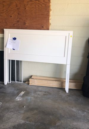 Pottery Barn Double Bed - White Excellent Cond for Sale in Sarasota, FL