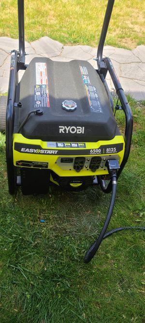 Ryobi 8125W Gas Generator - used once for Sale in Fieldsboro, NJ