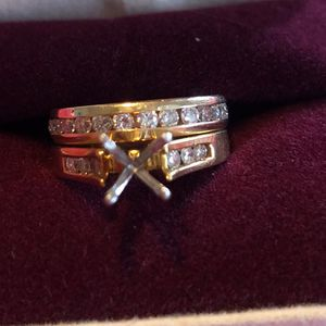 Diamond And Gold Band for Sale in Valley Center, KS