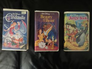 3 Disneyland VHS movies good condition for Sale in El Monte, CA