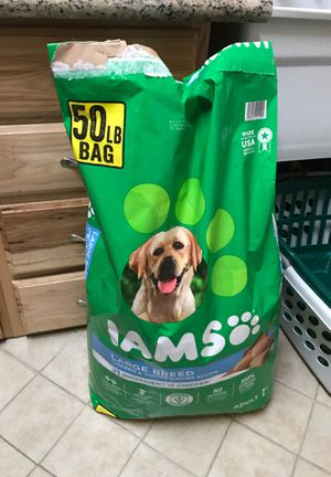Iams dog food for large dog breeds for Sale in Bingham Canyon, UT