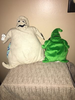 NIGHTMARE BEFORE CHRISTMAS Oogie Boogie Plush Dolls New With Tag 2 for Sale in Pittsburgh, PA