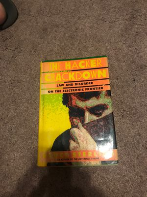 The Hacker Crackdown. 1st ed. for Sale in Winter Haven, FL