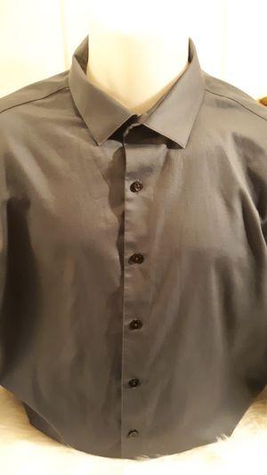 Kenneth Cole non-iron stretch men's dress shirt for Sale in Hampton, VA