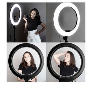 Professional Adjustable LED Ring light with stand for smartphones or camera for Sale in Katy, TX
