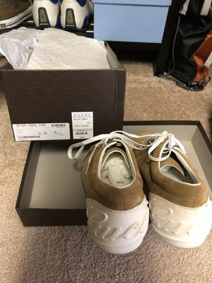 Gucci sneakers men's size 9 for Sale in Peoria, AZ