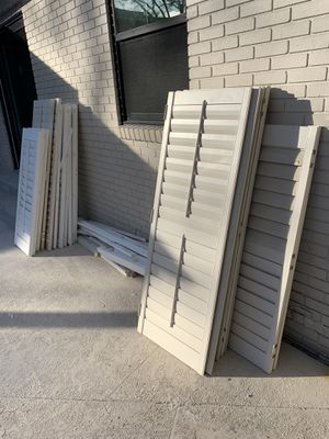 Used Plantation shutters for Sale in Tampa, FL