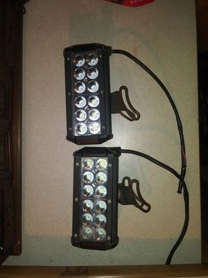 "Allextreme 7.5"" 36w LED light bar X2 for Sale in Vinton, LA"