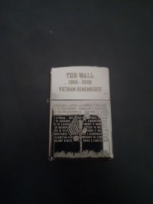 Zippo The Wall Vietnam Remembered for Sale in Surprise, AZ