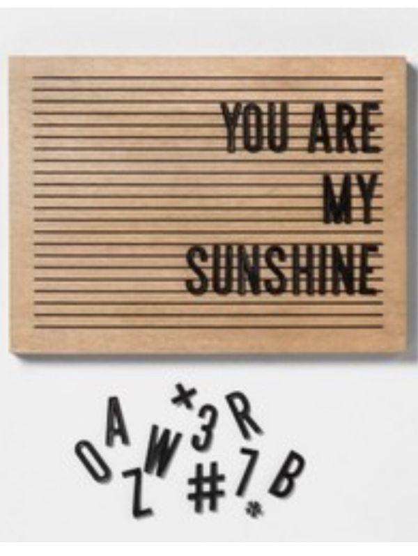16x12 letter board