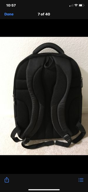 Samsonite black laser laptop tote back backpack for Sale in Alpine, CA