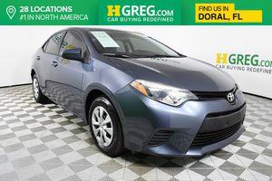 2015 Toyota Corolla for Sale in Doral, FL