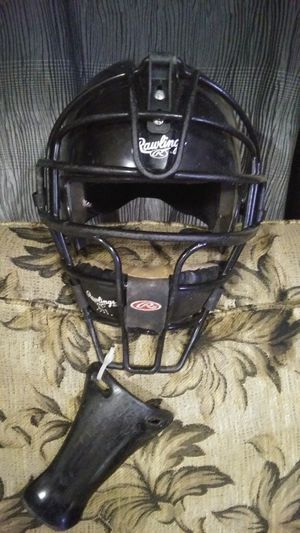 Rawlins baseball helmet with mask for Sale in Mount Vernon, WA