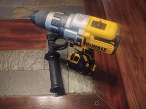 Hammer drill brushless xr 3 speeds new firm price no battery no charger reg $ 159 plus tax for Sale in Modesto, CA
