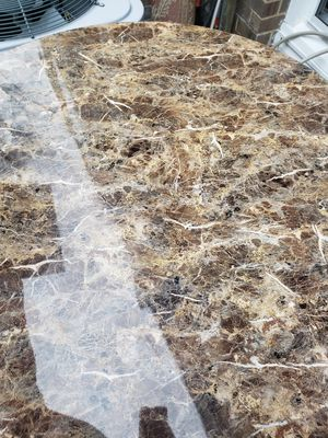 Marble table with 4 chairs for Sale in Alexandria, VA