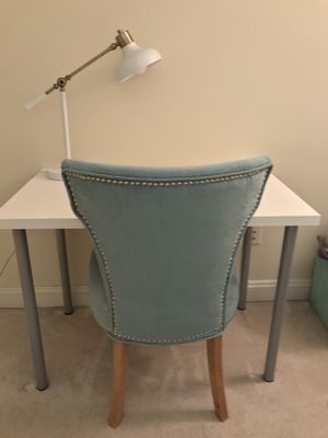 Aqua Blue Oversized Chair for Sale in Washington, DC