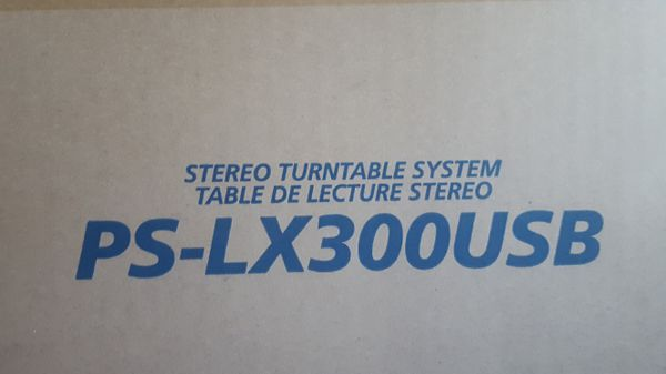 brand new!!! stereo turntable system