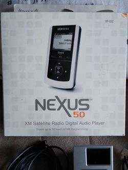Nexus 50 XM Satellite Radio Digital Audio Player for Sale in Stockton,  CA