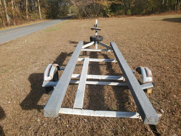 22 ft aluminum boat trailer