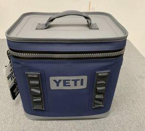 ❄️ NEW! YETI Hopper Flip 12 Portable Cooler Navy NWT LEAK PROOF Flip12 Blue Soft for Sale in Glendale, CA