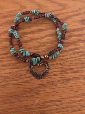 Heart Charm Bracelet for Sale in Atwater, CA