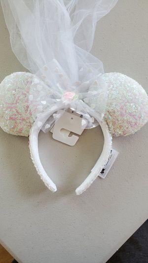 Disney Minnie Ear Veil (Brand New) for Sale in West Covina, CA