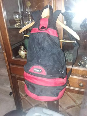 Icecap 3 Compartment Backpack Cooler Red & Black Hiking /Camping Travel Sack for Sale in Tempe, AZ