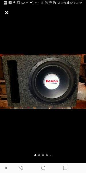 "12"" Boston Acoustic Speaker/ Subwoofer Rockford Fossgate Amplifier for Sale in St. Louis, MO"