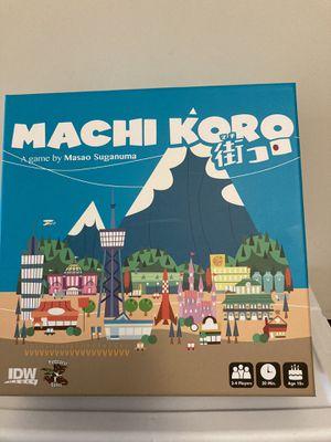 Machi Koro board game for Sale in Tigard, OR
