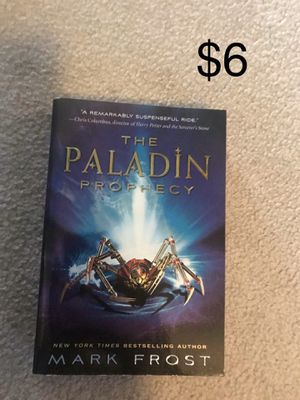 The Paladin Prophecy by Mark Frost for Sale in Lexington, KY