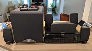 Klipsch Quintet lll,Sub 10 and Yamaha RX -V565 for Sale in North Ridgeville, OH