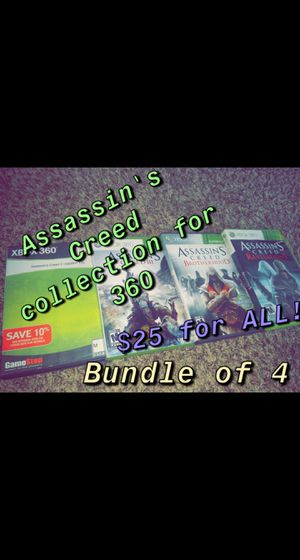 Assassin's Creed for 360 for Sale in Paducah, KY