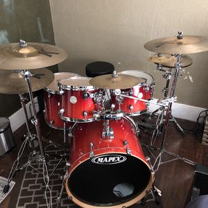 Mapex birtch drumset for Sale in Dinuba, CA