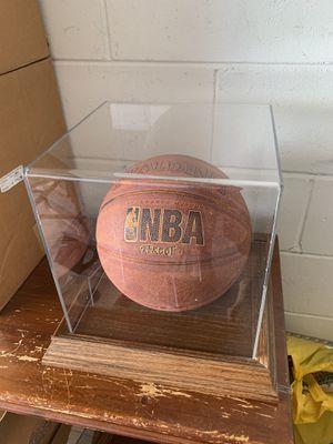Acryllic basketball display case for Sale in Winter Garden, FL