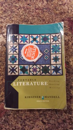 Portable Literature 8th edition by Kirszner & Mandell for Sale in North Highlands, CA