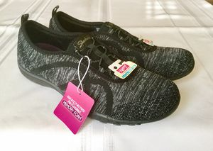 Skechers - This Just In Air-Cooled Memory Foam Womens' Sneaker Gray, Size 9 US for Sale in Alpharetta, GA