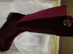 MK Girls Boots Brand New Size 12 Burgundy for Sale in Ellenwood, GA