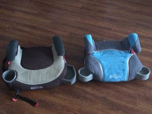 GRACO Booster Car Seats with Cup Holders - $25 Each firm for Sale in Los Angeles, CA