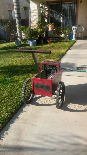 Metal Dog stroller good condition for Sale in Fontana, CA
