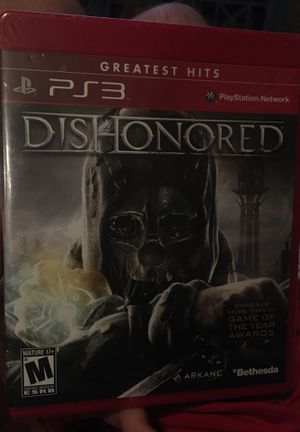 Dishonored for PS3, unopened still sealed for Sale in Newcastle, OK