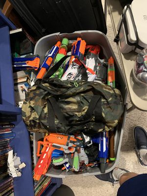 Assorted nerf guns for Sale in Princeville, IL