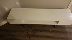 TV STAND WHITE for Sale in Los Angeles, CA