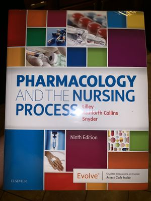 Pharmacology Book Ninth Edition for Sale in Aurora, IL