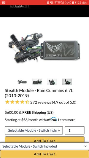 Stelth modual for Sale in Coolville, OH