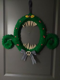 The Nightmare before Christmas scary wreath for Sale in Lynnwood,  WA