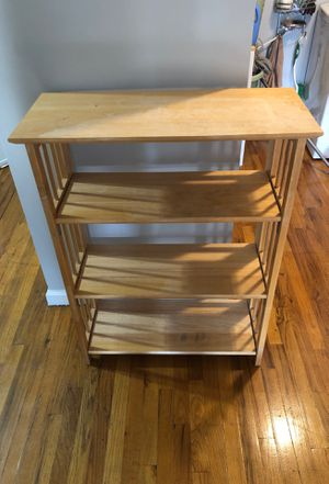 Foldable library (Bookshelves) 28 inches long by 11 inches wide by 39 inches tall for Sale in Brooklyn, NY