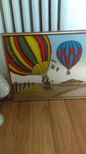 H hargrove Hot air balloon painting for Sale in Lebanon, IN