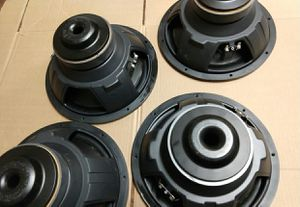 """Polk Audio 12"""" Car Subwoofer Speakers. $19 each. Not working. for Sale in Richardson, TX"""