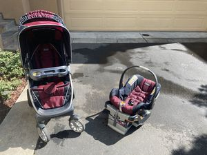 Chico stroller with infant car seat for Sale in Dublin, CA