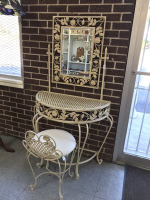 Wrought Iron Vanity for Sale in Alexandria, VA